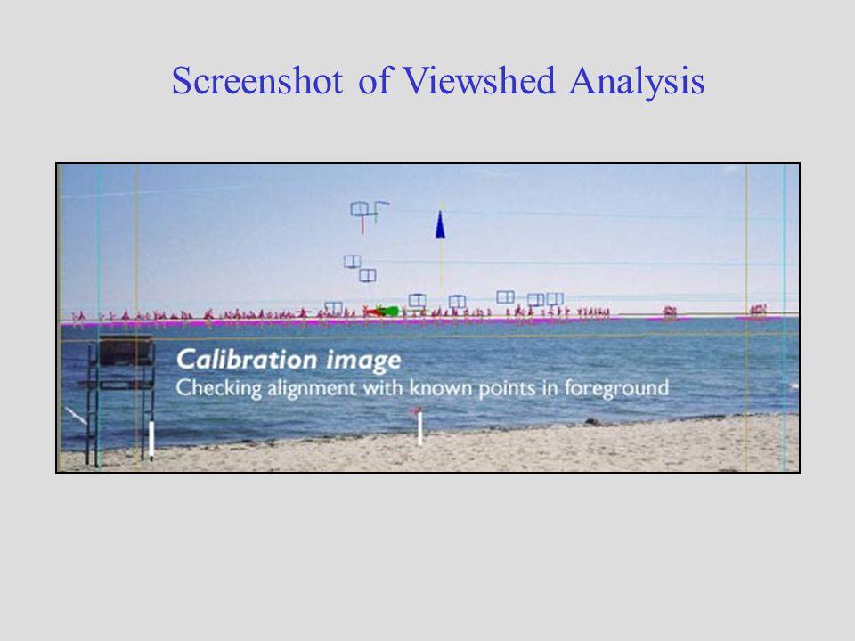 Screenshot of Viewshed Analysis