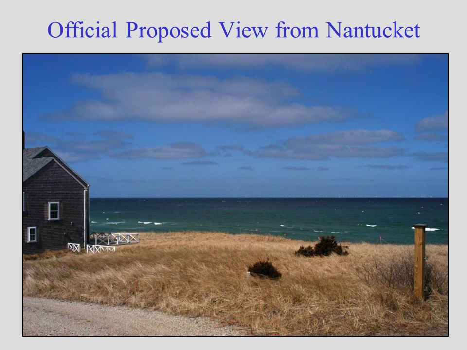 Official Proposed View from Nantucket