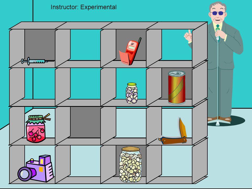 Instructor: Experimental