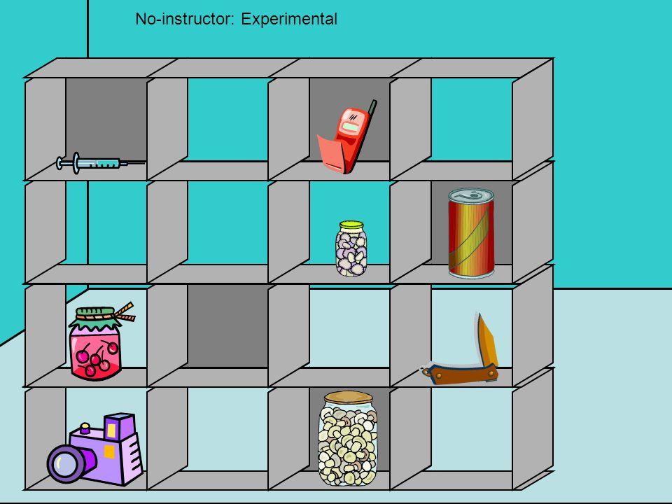 No-instructor: Experimental