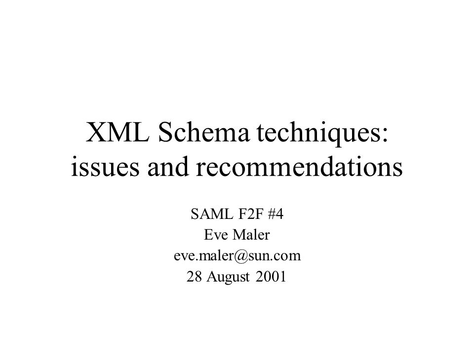 Interaction of type derivation and substitution groups They can be mixed together freely (by default) If the SAML assertion schema relies on type derivation (as it does today), extension schemas could still define new substitutable elements with as a head element If the SAML assertion schema is changed to use substitution groups, extension schemas could still define new types and use xsi:type
