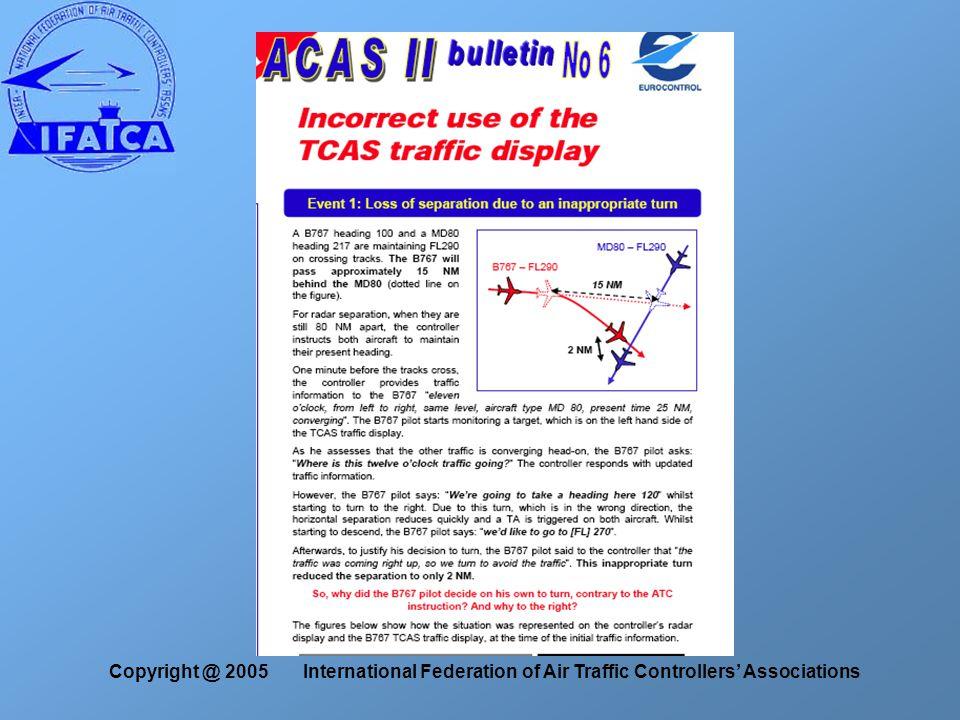 Copyright @ 2005 International Federation of Air Traffic Controllers' Associations