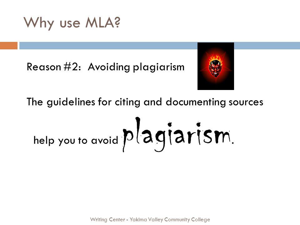 Why use MLA.
