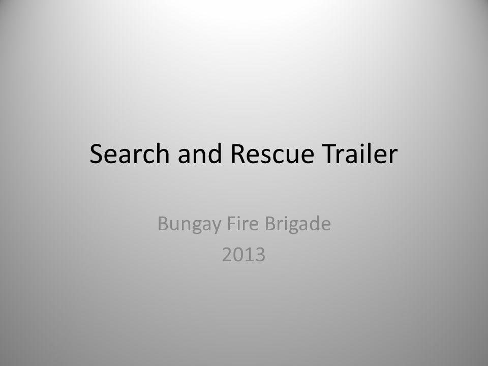 Search and Rescue Trailer Bungay Fire Brigade 2013