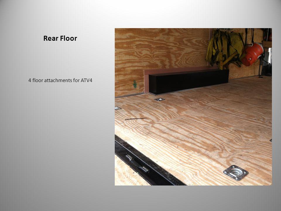 Rear Floor 4 floor attachments for ATV4