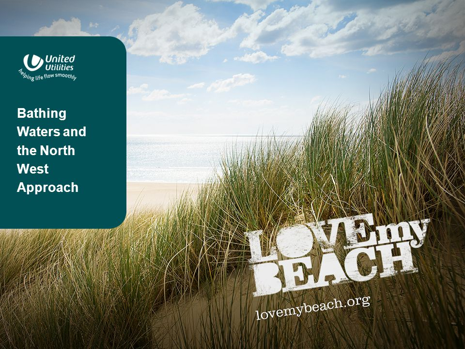 Bathing Waters and the North West Bathing waters and the North West The North West has 32 designated bathing waters stretching from the Wirral to West Cumbria including the 3 major resorts of Blackpool, Southport and Morecambe.
