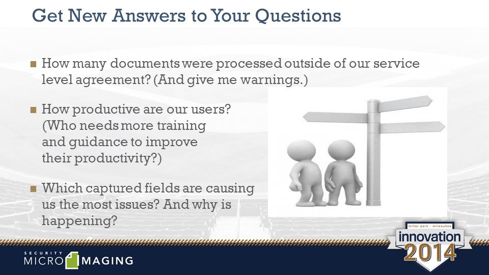 Get New Answers to Your Questions How many documents were processed outside of our service level agreement.