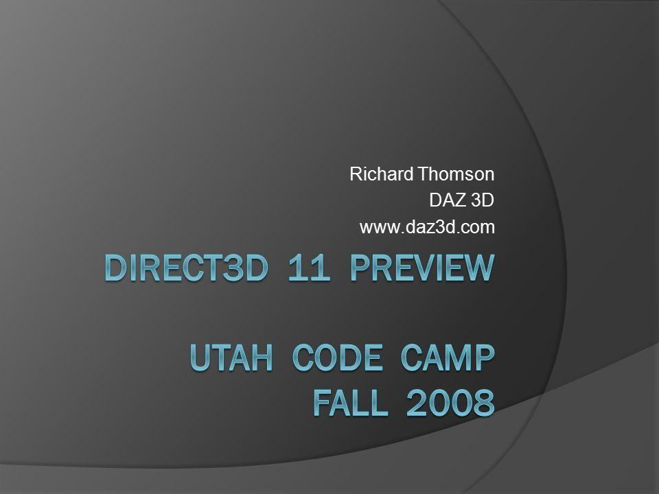 Richard Thomson DAZ 3D www.daz3d.com