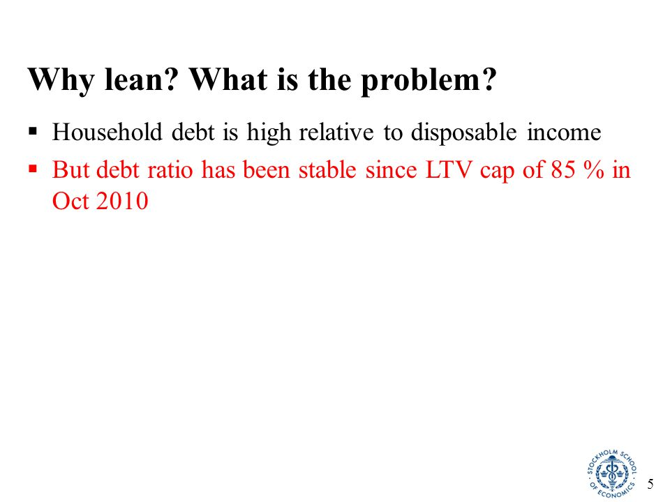 6 Household debt-to-income ratio (% of disposable income)