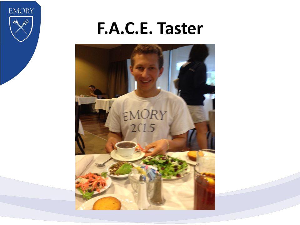 F.A.C.E. Taster