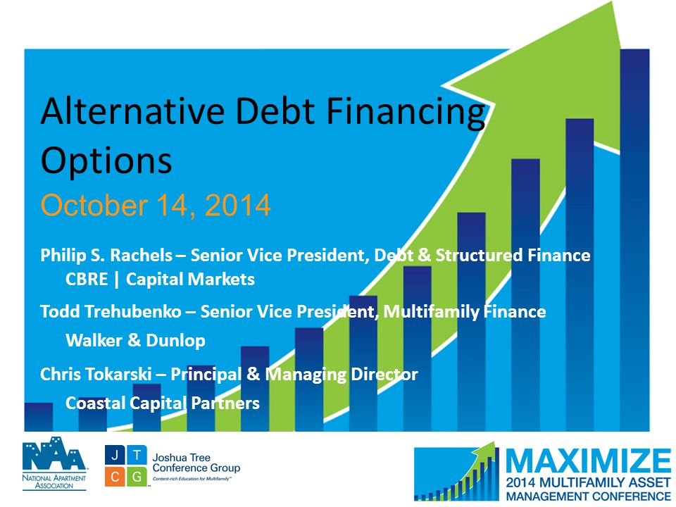 #MAMConf14 Alternative Debt Financing Options October 14, 2014 Philip S.