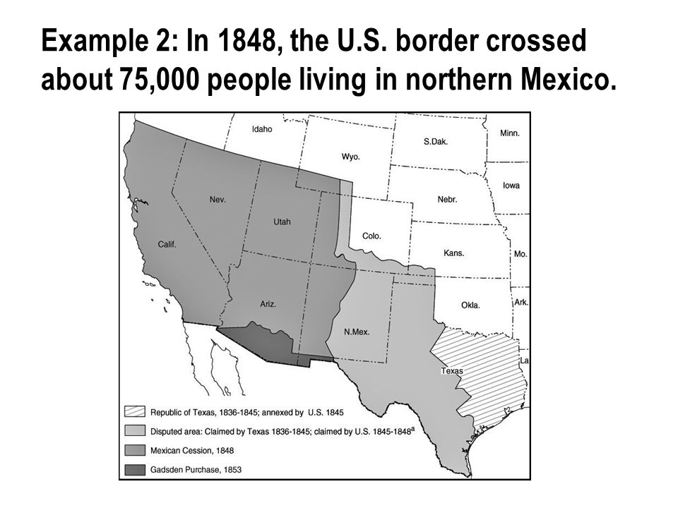 Immigration has been a major factor in the U.S.