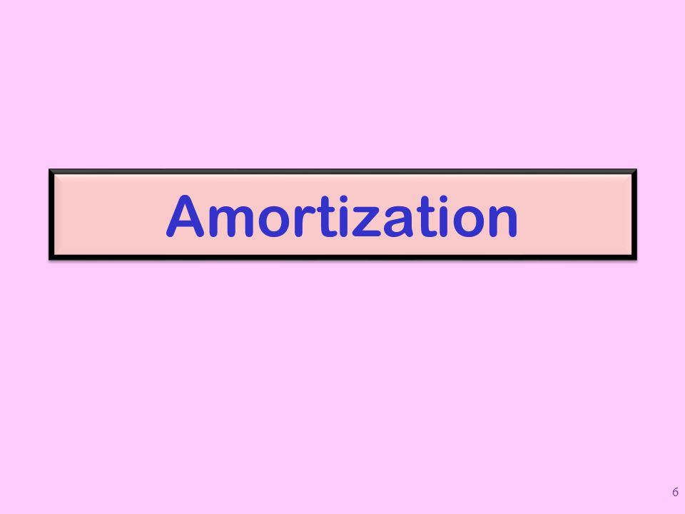 Amortization 6