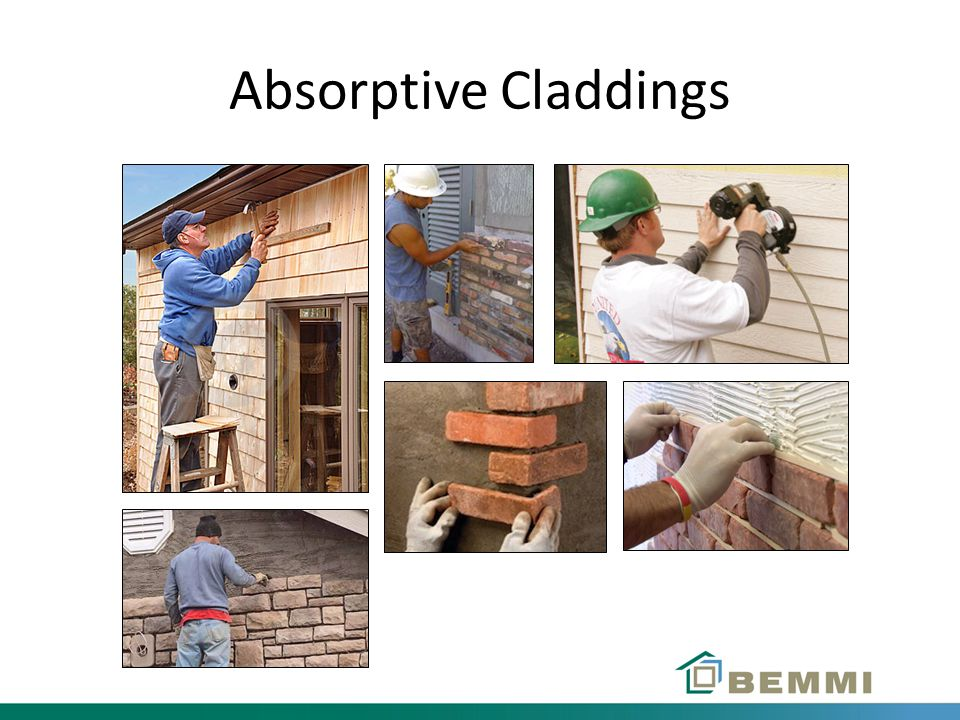 Absorptive Claddings
