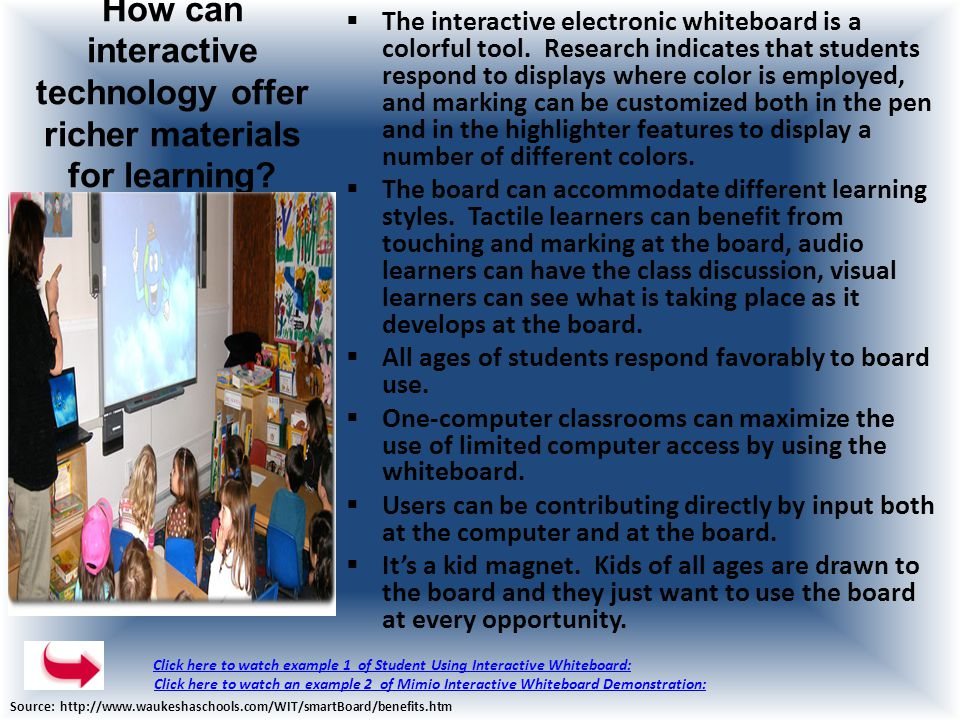 What is an Interactive Whiteboard .