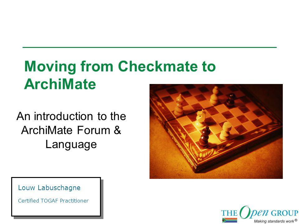 ArchiMate Concepts: Application