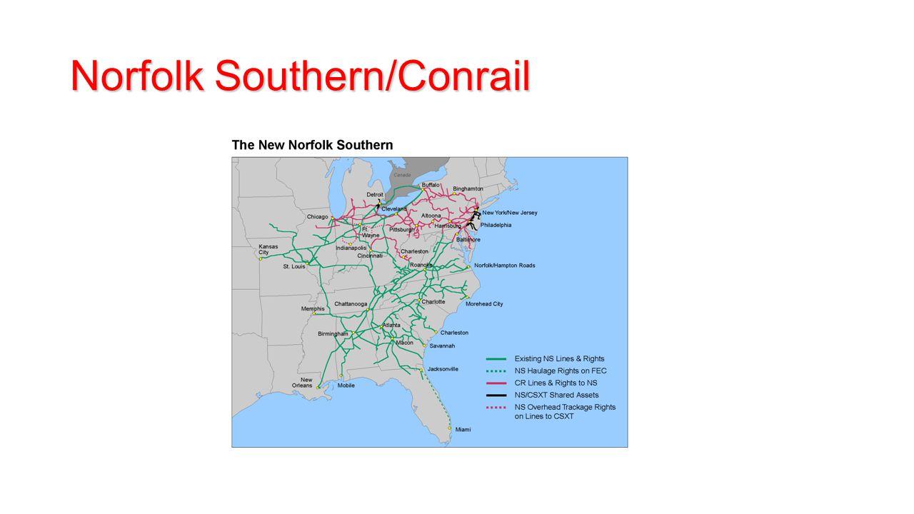 Norfolk Southern/Conrail