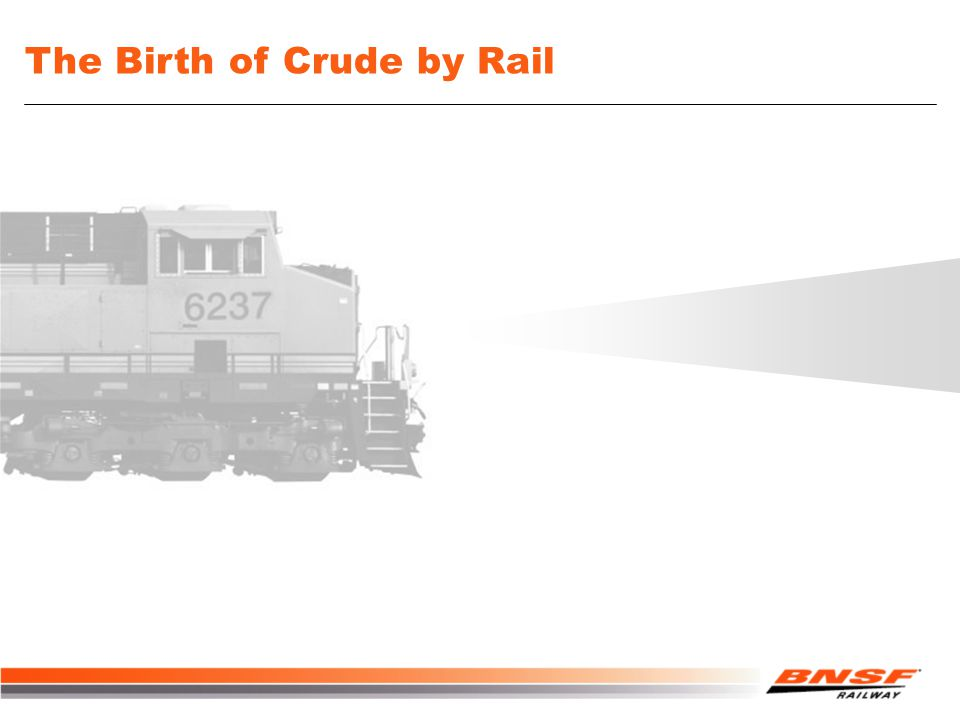 The Birth of Crude by Rail