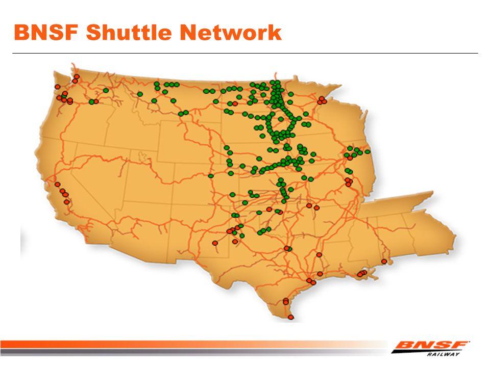 BNSF Shuttle Network