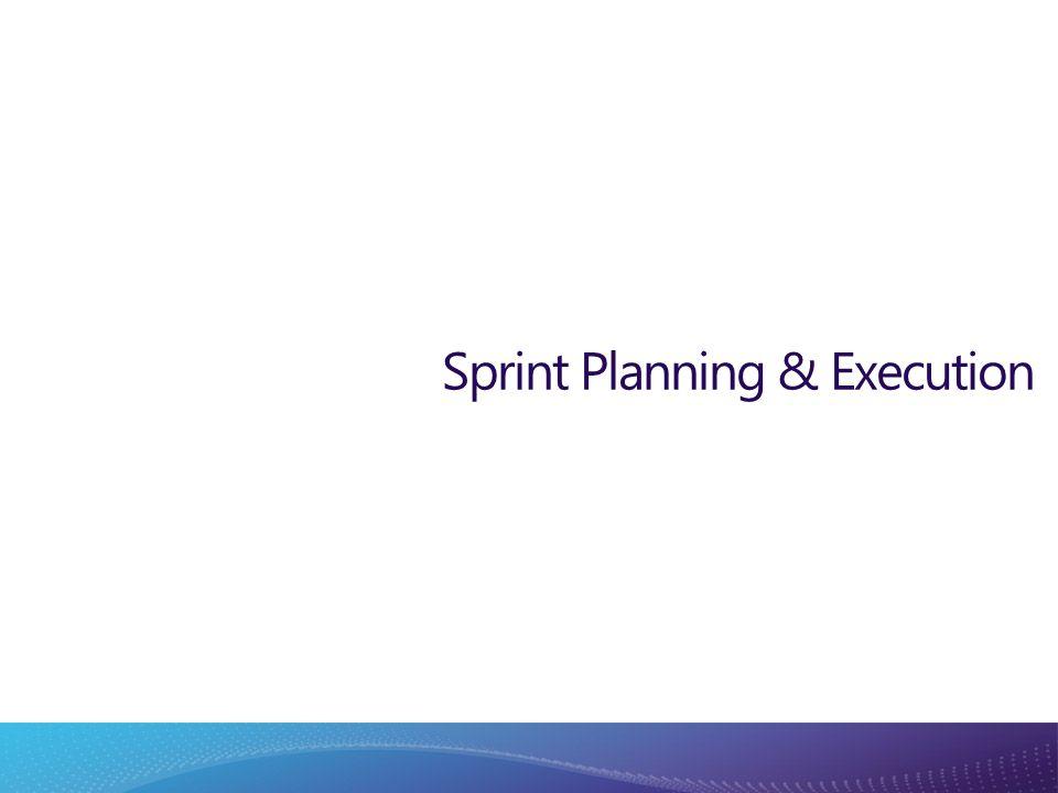 Sprint Planning & Execution
