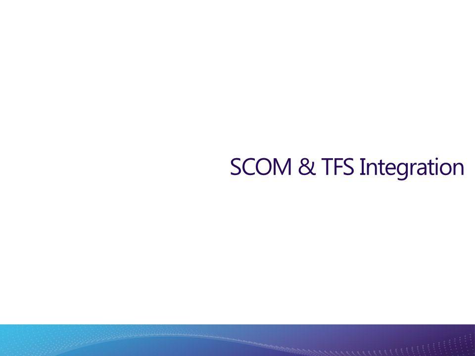 SCOM & TFS Integration