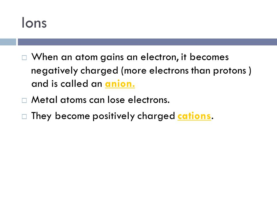 Summary – Atomic Radius  Going across a period left to right, atomic radius decreases.  Going down a group, atomic radius increases.  The element h
