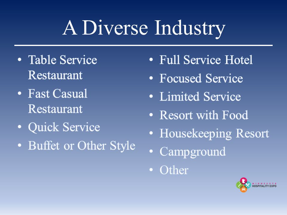 A Diverse Industry