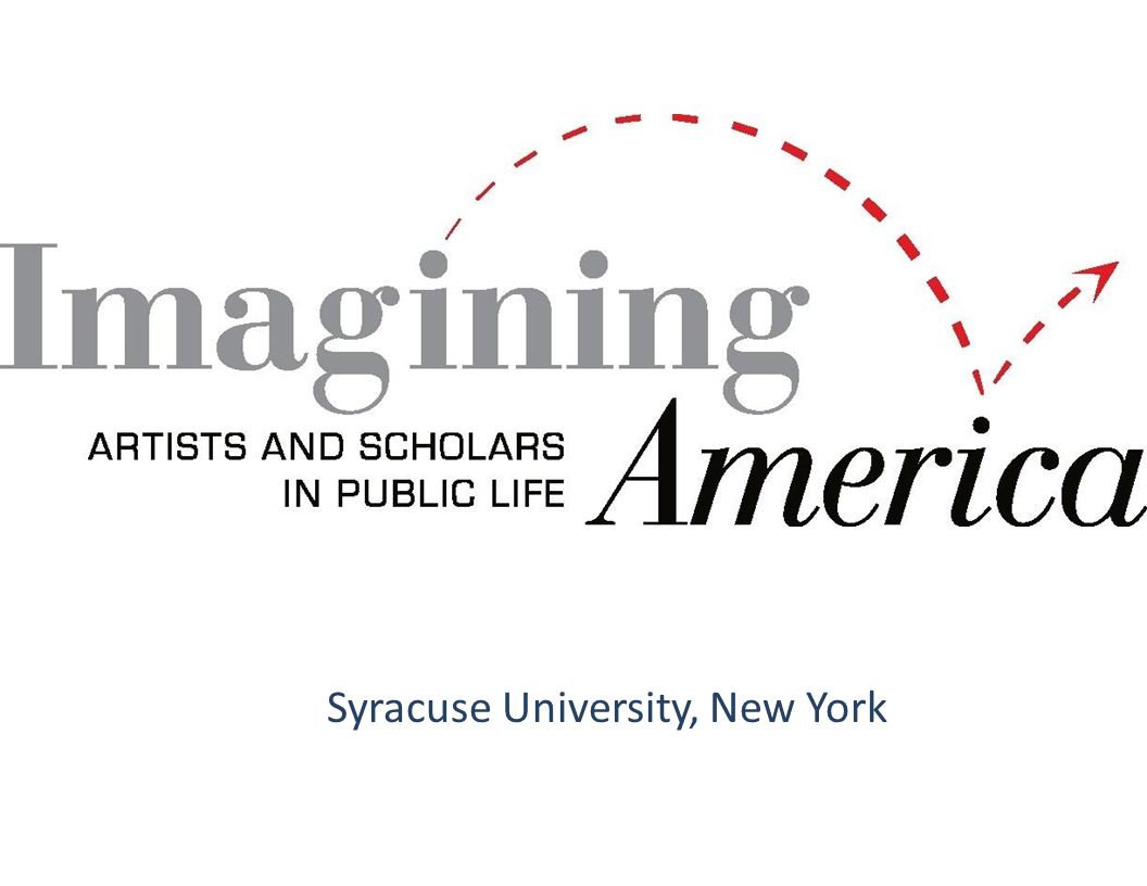 Vision: Publicly engaged artists, designers, scholars, and other community members working with institutions of higher education to enrich civic life for all.