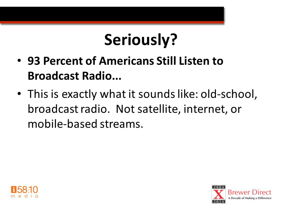 Radiothon Results Learnings/Trends – Format matters