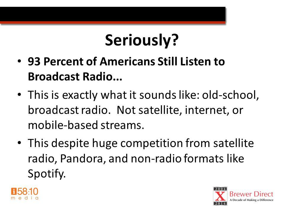 Radio & Your Ministry Benefits of using radio