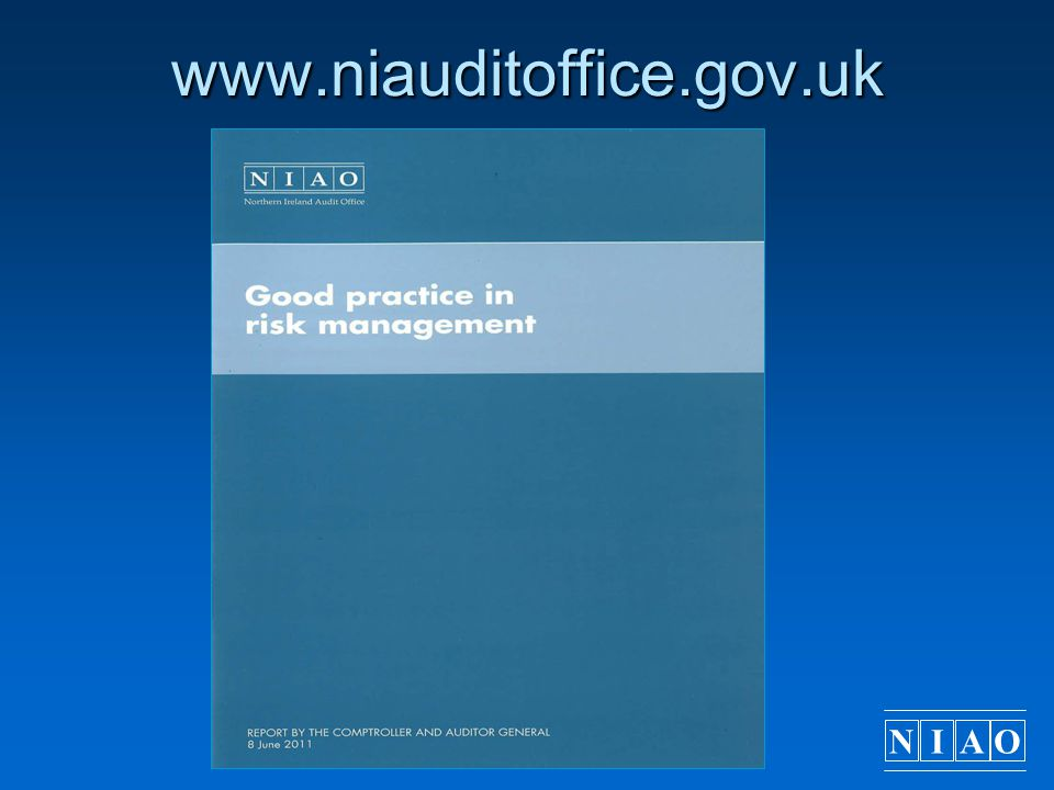 NIAO www.niauditoffice.gov.uk