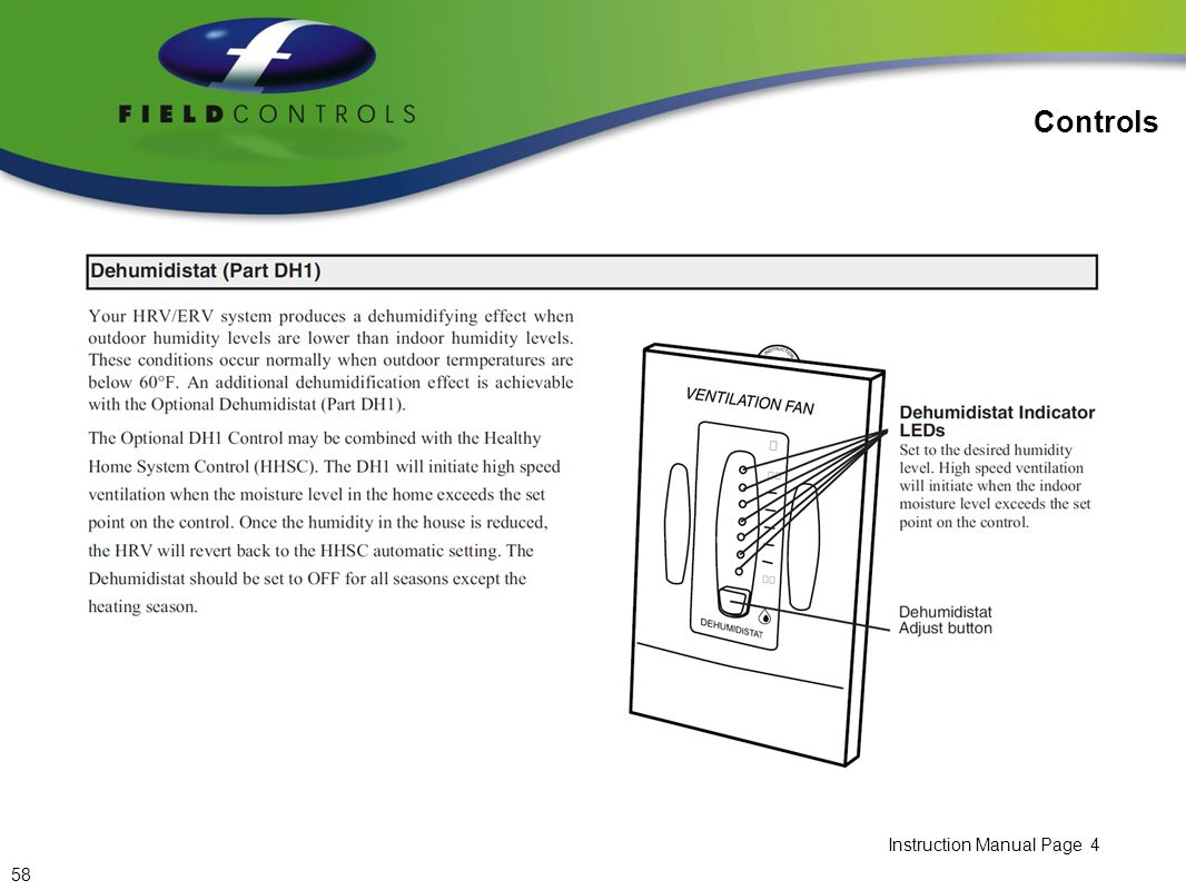 Controls Instruction Manual Page 4 58