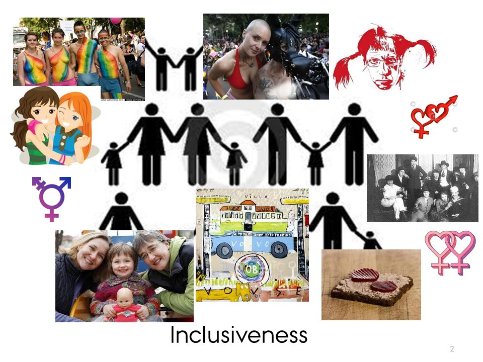 ? 2 Inclusiveness