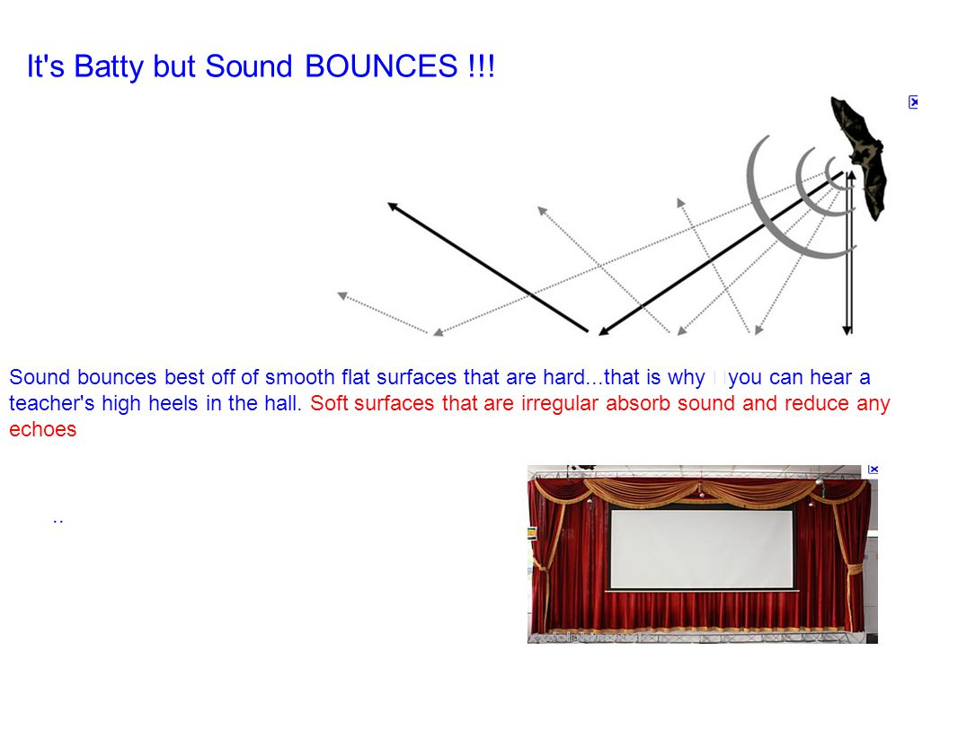 It s Batty but Sound BOUNCES !!.