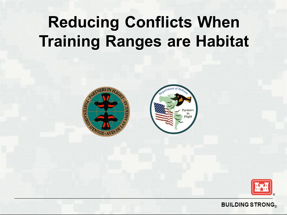 Reducing Conflicts When Training Ranges are Habitat