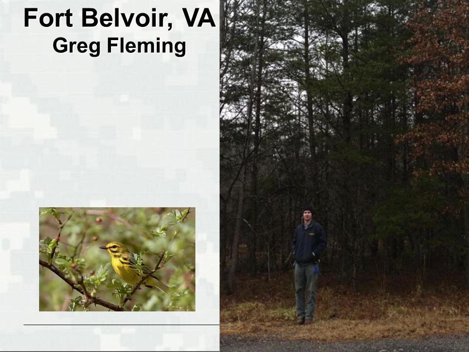 BUILDING STRONG ® Fort Belvoir, VA Greg Fleming