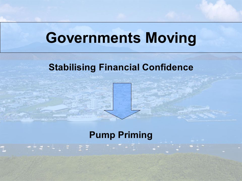 Good Thing! Governments Acting Together Bad Thing! Consumer Confidence Falling