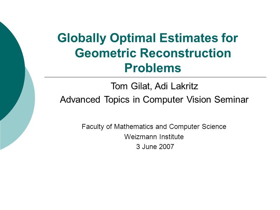 non convex optimization init level curves of f Many algorithms Get stuck in local minima MinMax Non convex feasible set