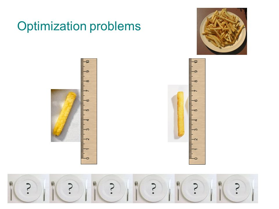 Introduction to optimization problems