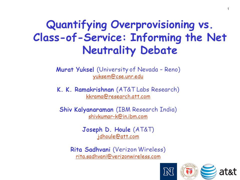Quantifying Overprovisioning vs.