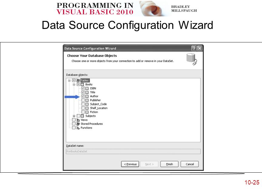 10-25 Data Source Configuration Wizard