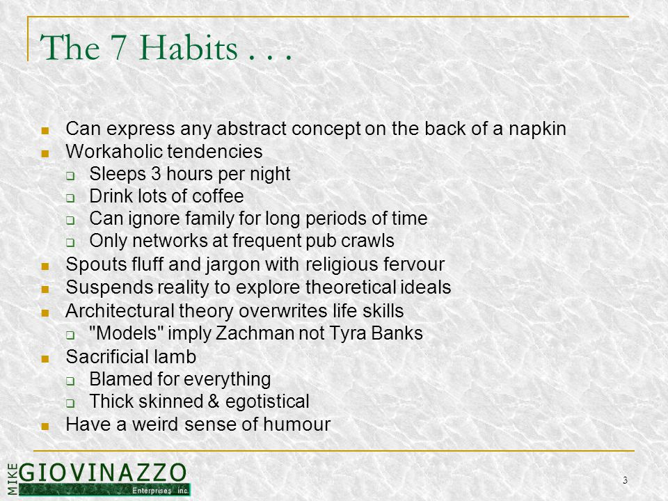 3 The 7 Habits...