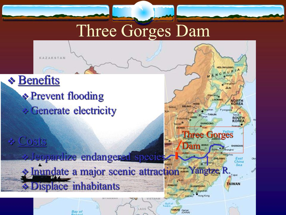 Three Gorges Dam Yangtze R.