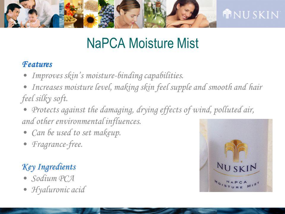 Features Improves skin's moisture-binding capabilities.