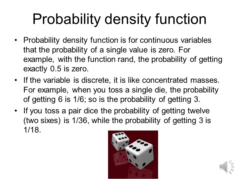 Representation of uncertainty Random variables: Variables that can take multiple values with probability assigned to each value Representation of random variables –Probability distribution function (PDF) –Cumulative distribution function (CDF) –Moments: Mean, variance, standard deviation, coefficient of variance (COV)