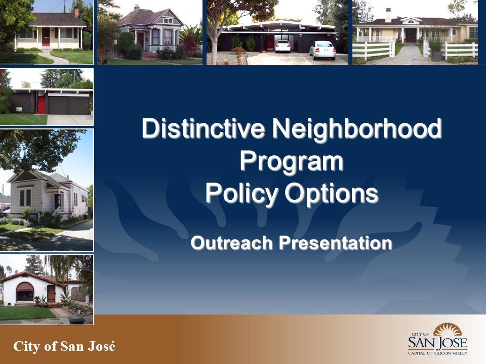Policy Analysis – Neighborhood Specific Toolkit Option 1 - Conservation Study Area Zoning Overlay Pros – Would make survey process quicker and less expensive upfront.
