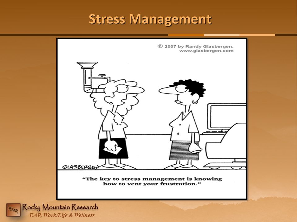EAP, Work/Life & Wellness Stress Management