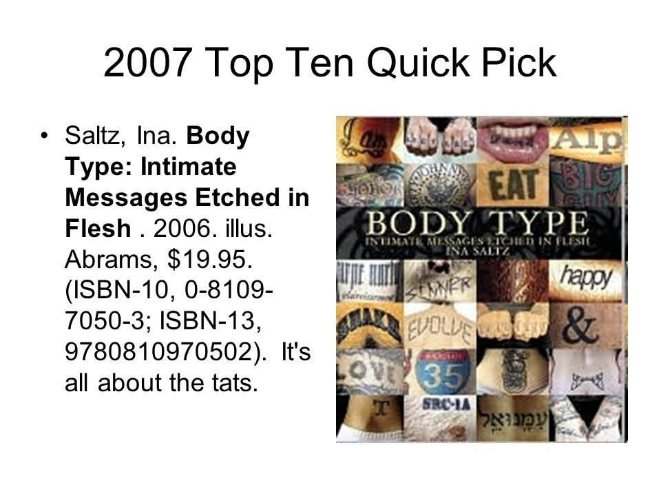 2007 Top Ten Quick Pick Seckel, Al.Optical Illusions: The Science of Visual Perception.