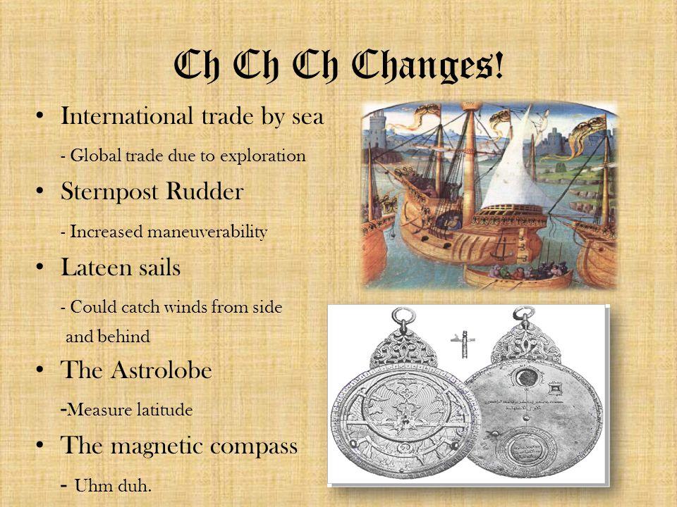 Ch Ch Ch Changes.