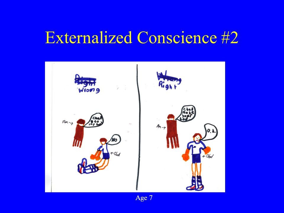 Externalized Conscience #2 Age 7
